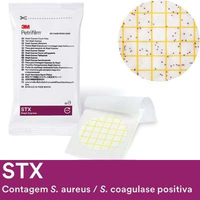PETRIFILM STX CONT S.AUREUS 6490 50UN