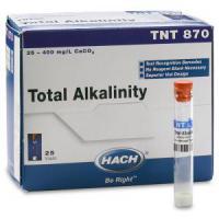 ALCALINIDADE REAGENTE TNTPLUS 13MM 25-400MG/L 25UN