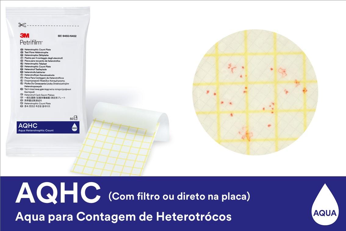PETRIFILM AQUA 6452 HC CX/1000