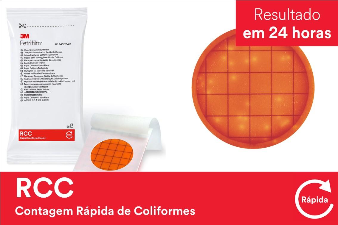 PETRIFILM RCC CONT RAP COLIF 6412 500UN