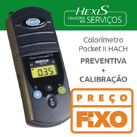 MANUTENCAO PREVENTIVA E CALIBRACAO POCKET  COLORIMETRO
